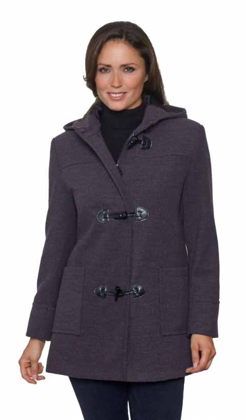 Womens Short Duffle Coat K8089